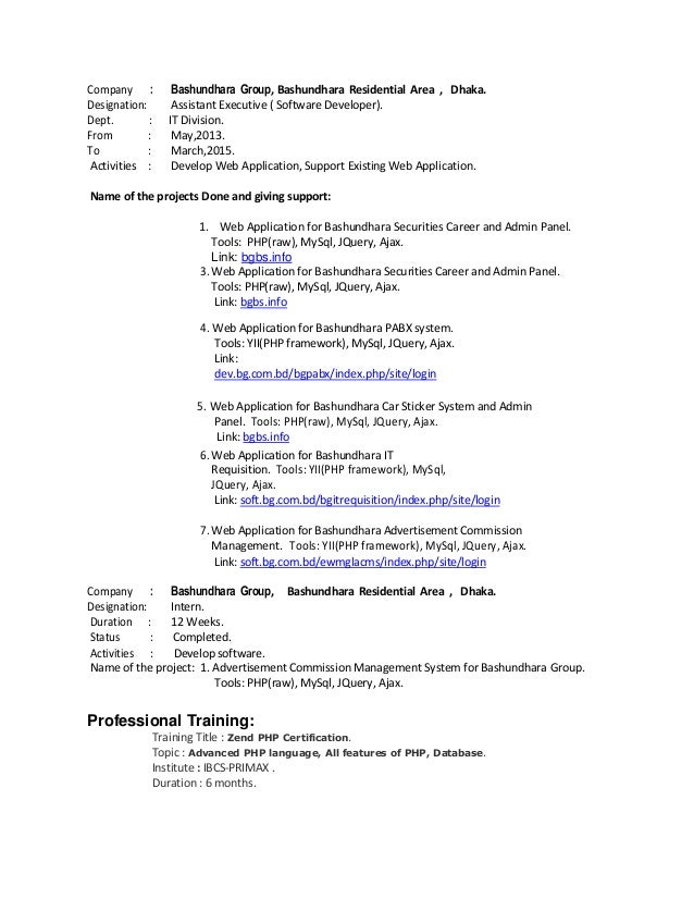 codeigniter resume sles - 28 images - monthly status report template ...