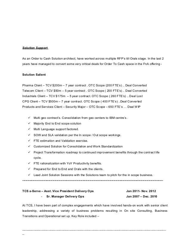 self resume