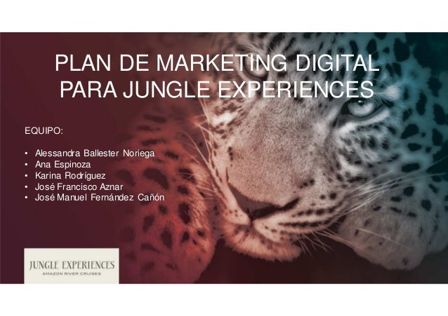 Presentación Proyecto Final MMD 'Jungle Experiences' Slide 2