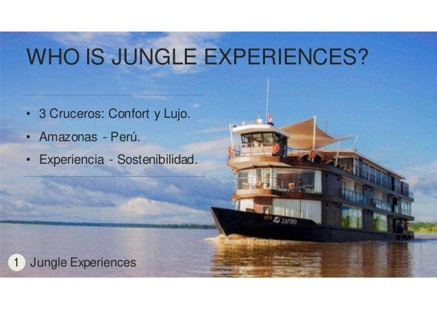 Presentación Proyecto Final MMD 'Jungle Experiences' Slide 3