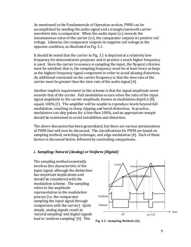 A Comprehensive Study of Class D Amplifier Technology