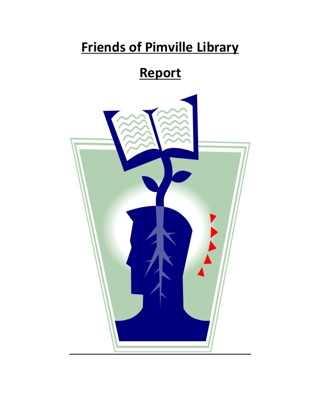 Friends of Pimville Library Report