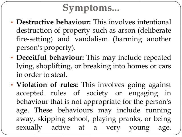 Deceitful behavior