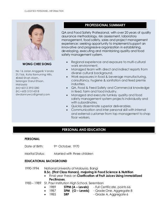Resume WCS_March2015