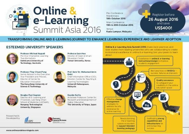 Pre-Conference Masterclass: 18th October 2016 Main Conference: 19th & 20th October 2016 Venue: Kuala Lumpur, Malaysia Kayo...