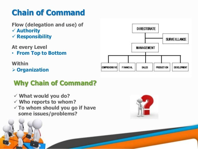 following chain of command I would for someone to please explain to me the importance of the military chain of command i have a 1000 words essay that is due and i would really like some help on.