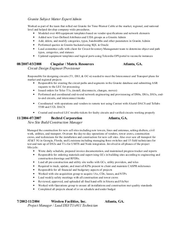 Colorful Bts Engineer Resume Gallery - Professional Resume Examples ...