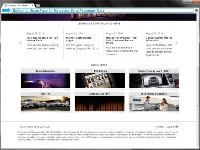Mercedes Benz Employee Portal