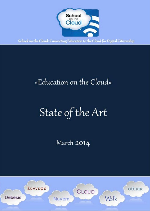 School on the Cloud Network (543221 – LLP – 1 – 2013 – 1 – GR - KA3 - KA3NW) an ICT Key Action 3 European Project D6.4 Edu...