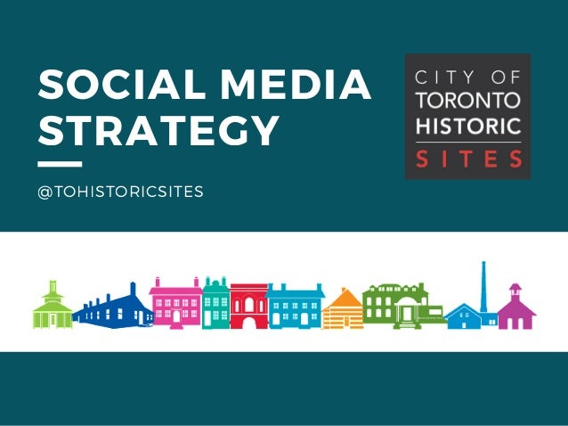 SOCIAL MEDIA STRATEGY @TOHISTORICSITES