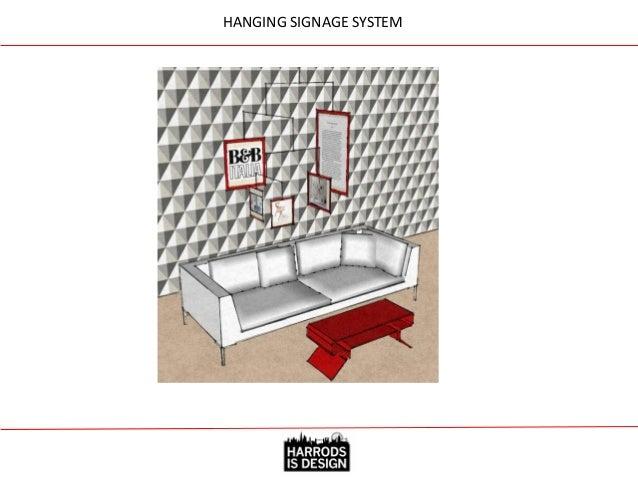 HANGING SIGNAGE & FLOOR GRAPHIC