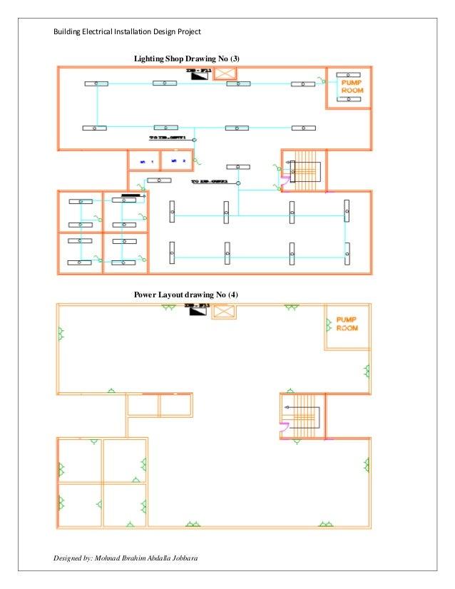 Electrical Installation Design Project DUBAI STANDARD By Mohnad Ibrau2026