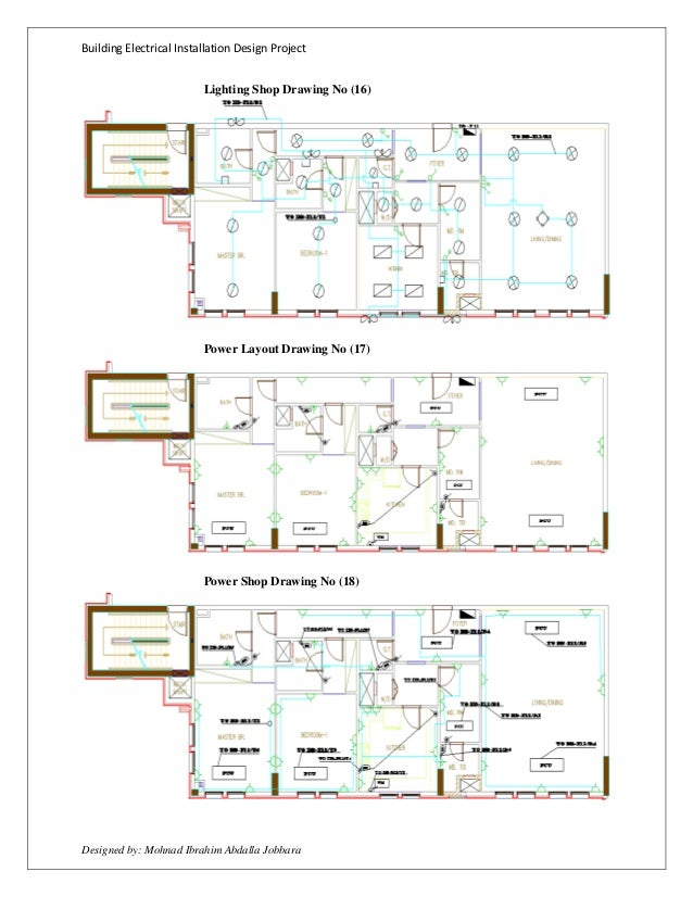 Electrical Installation Drawing - Merzie.net