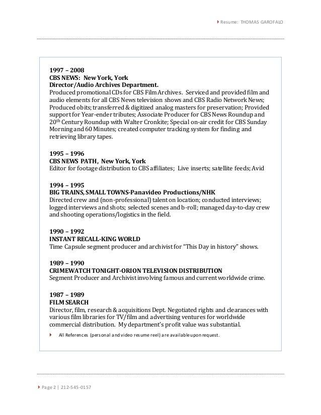 new resume search york