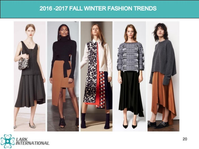 TREND REPORT 2016-2017 FALL WINTER
