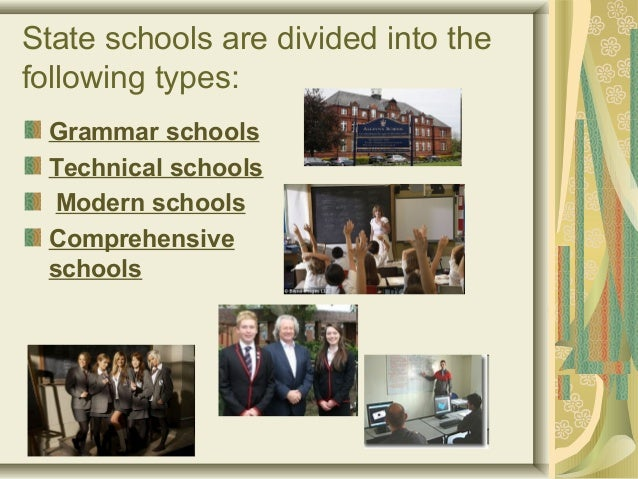uk school types Schools featured on uk boarding schools the online guide to prep, boys, girls, co-ed and international public schools.
