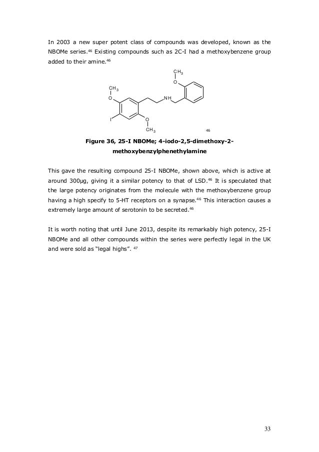 the chemistry of mdma and various other phenethylamines