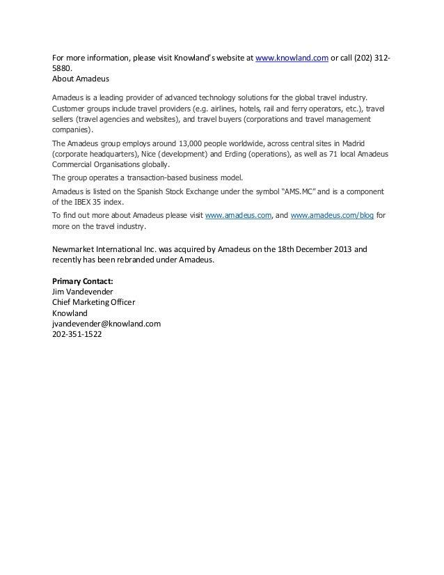 PRESS RELEASE Knowland Acquisition Release_Final v4 Slide 2