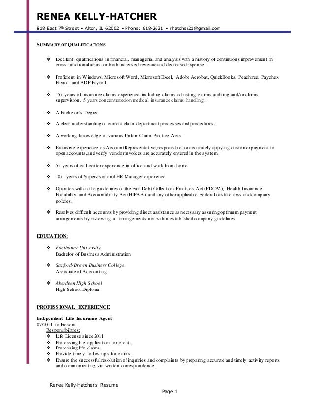 Attractive Accountancy Resume Aberdeen Images - Administrative ...