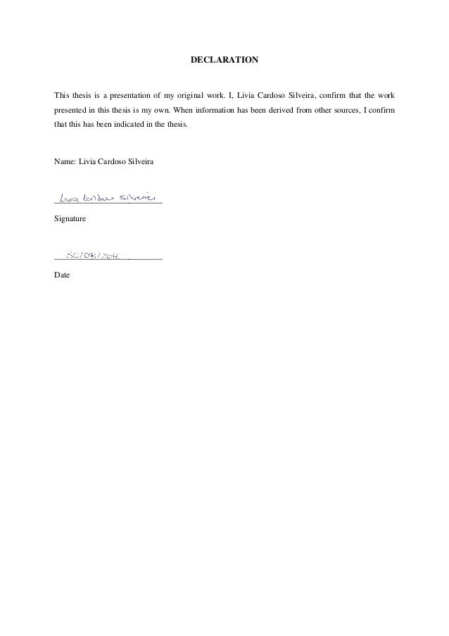 Signature Page Templates