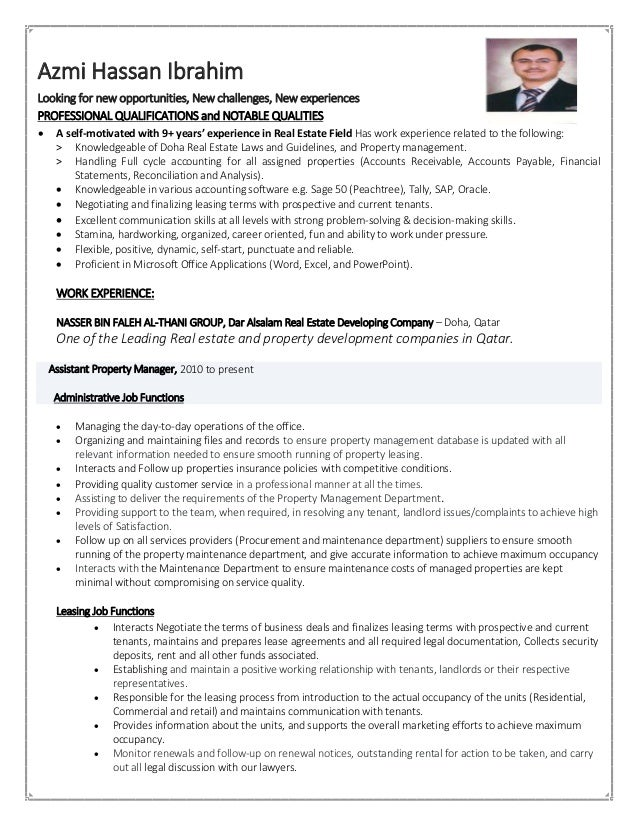 Azmi Hassan Ibrahim Looking for new opportunities, New challenges, New experiences PROFESSIONAL QUALIFICATIONS and NOTABLE...