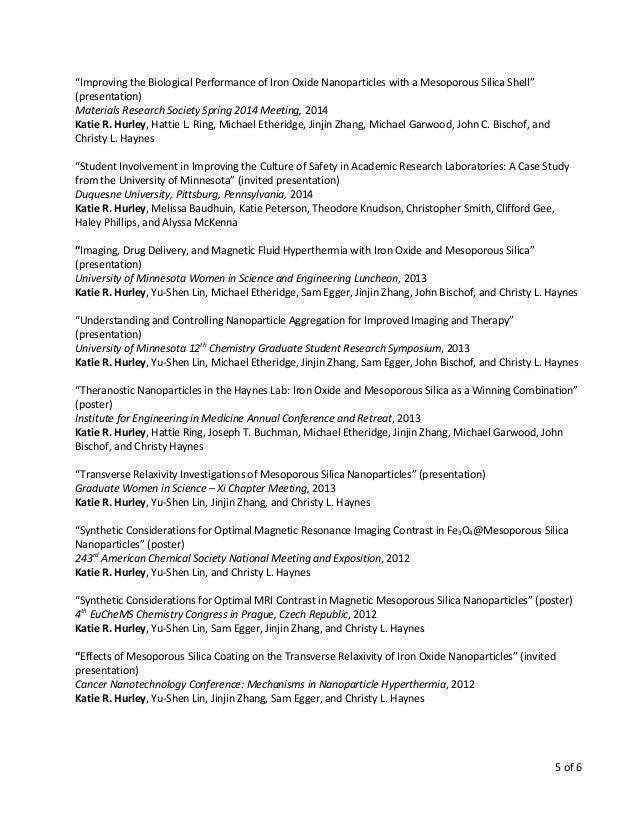 Enchanting Nanoengineering Resume Pattern - Best Resume Examples by ...