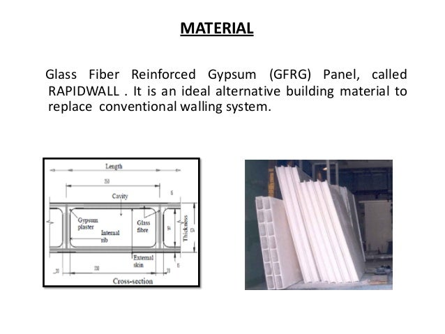 Gfrg Rapidwall Sustainable Load Bearing Building System