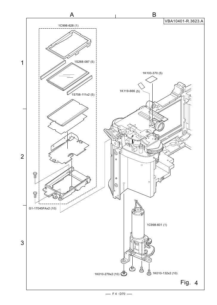 D70 parts manual