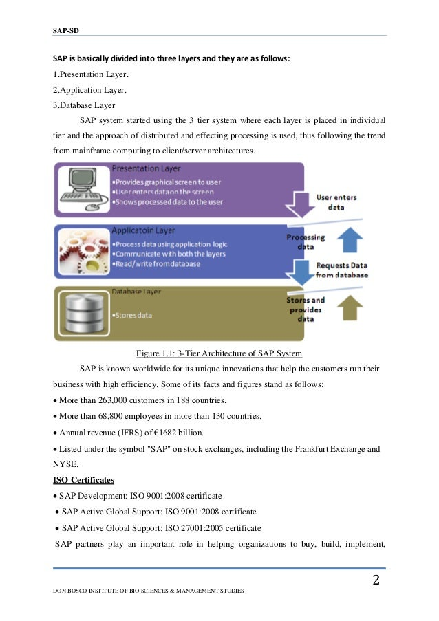 C sap dissertation