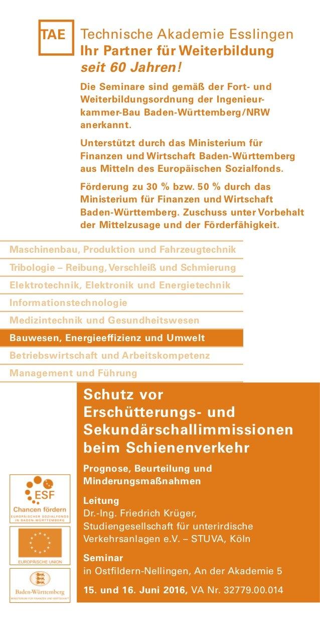 Das Seminar ist vom VDSI Verband Deutscher Sicherheitsingenieure e.V. als geeignet für die Weiterbildung von Sicherheitsfa...