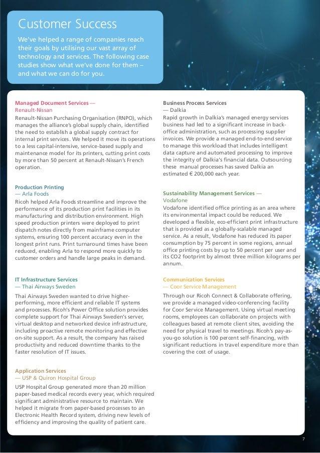 Ricoh Services Overview