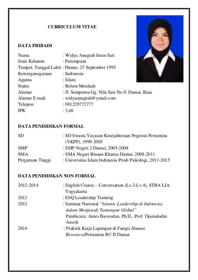 Resume Widya Anugrah