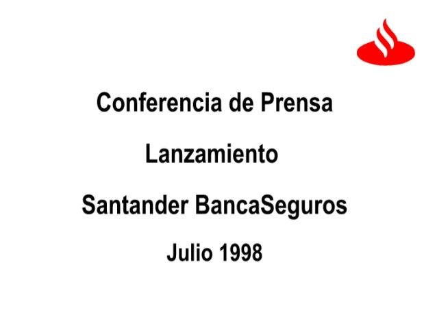 Conferencia de Prensa 98