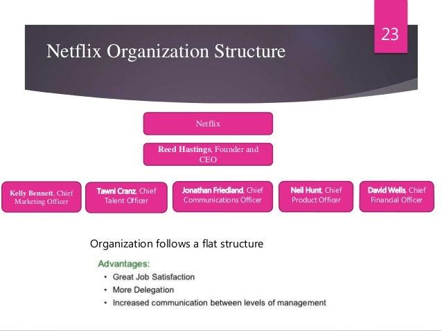 netflix company structure