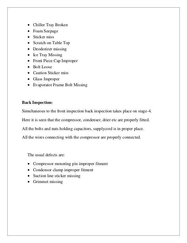 Industrial Training Report Rfa Godrej