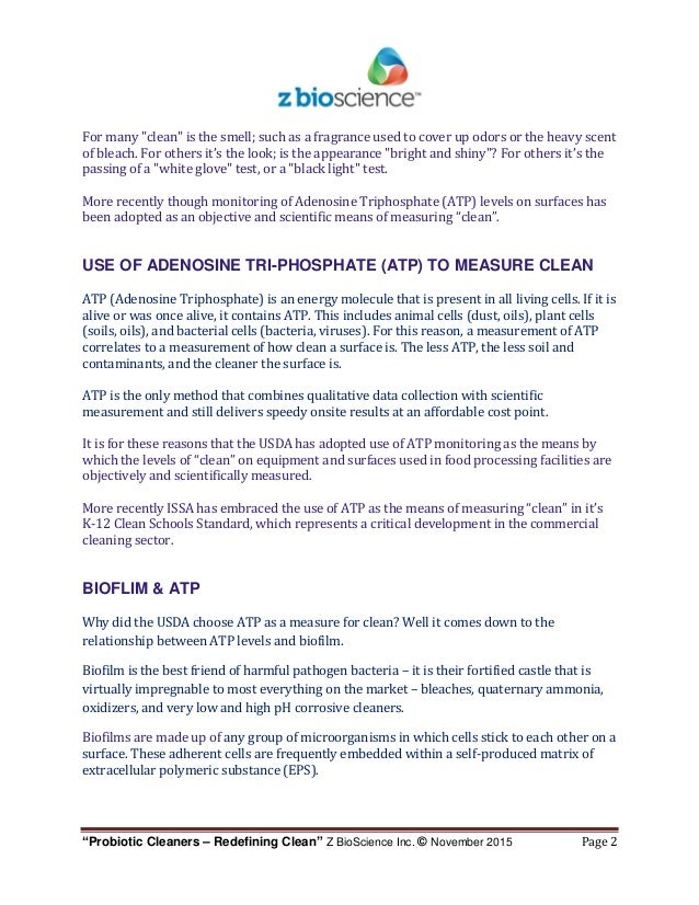 ZBS - Article - Probiotic Cleaners - Redefining Clean - Brand Focus -…