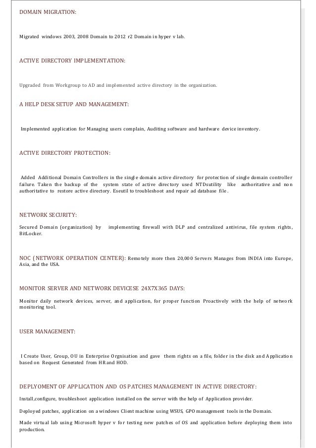 resume 4