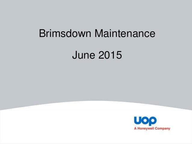 Brimsdown Maintenance June 2015