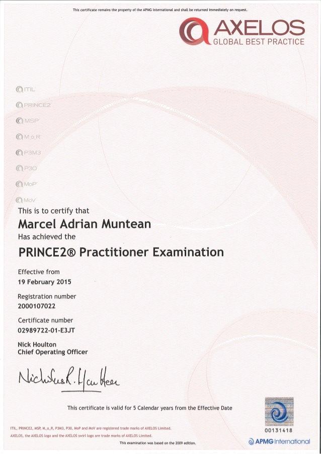 Axelos Certification Itil Primer