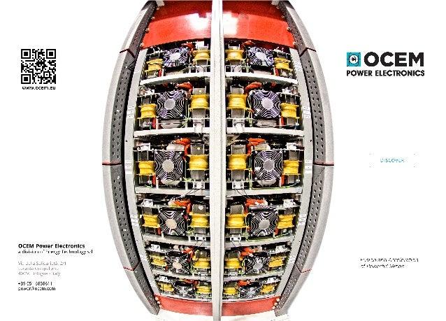 OCEM POWER ELECTRONICS BROCHURE