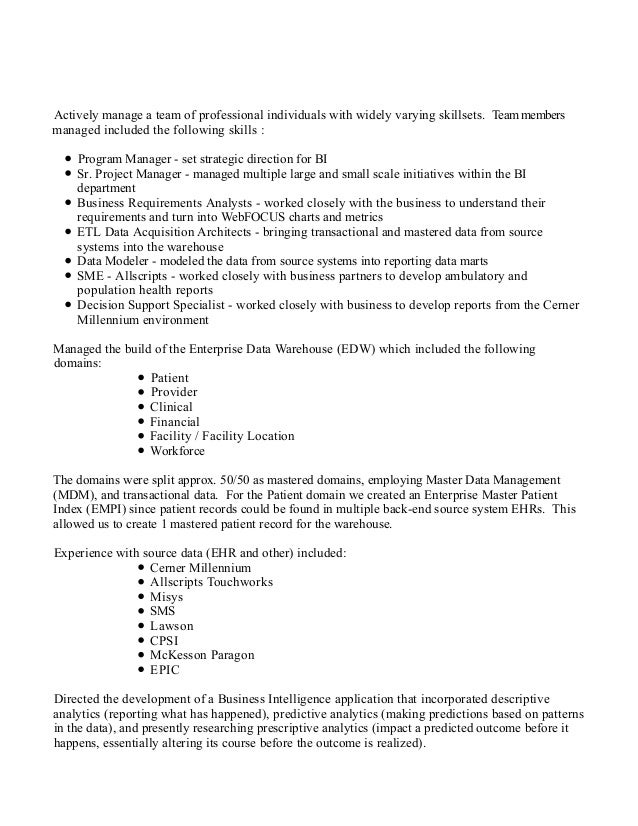 thomas f janssen resume detailed