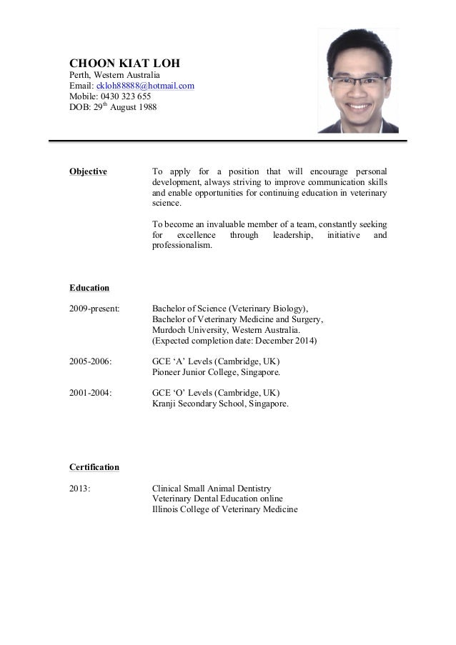 resume linkedin profile
