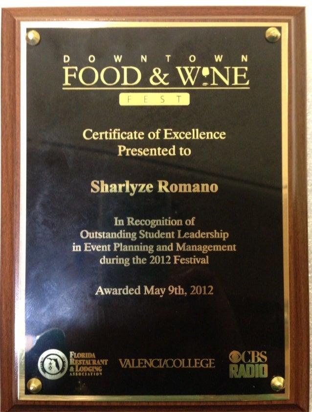 CBS Award_SharlyzeRomano