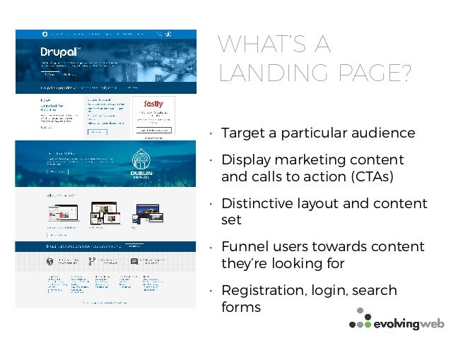 Creating Layouts and Landing Pages for Drupal 8 - DrupalCon Dublin