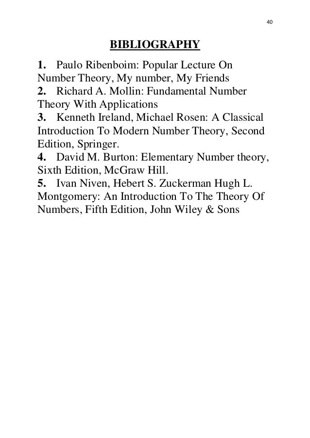 ivan niven number theory solution manual
