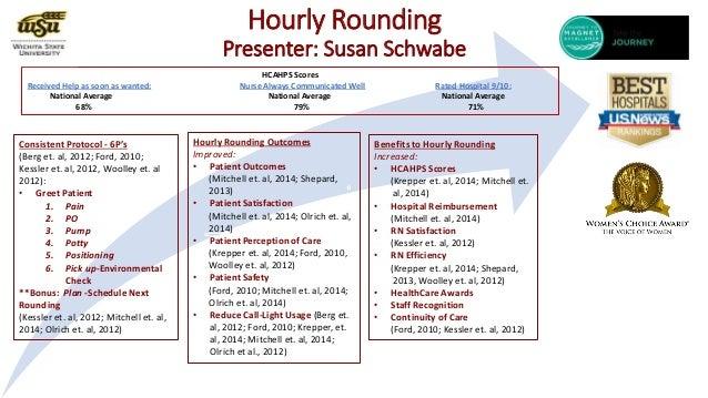 Susan Schwabe Hourly Rounding 2014