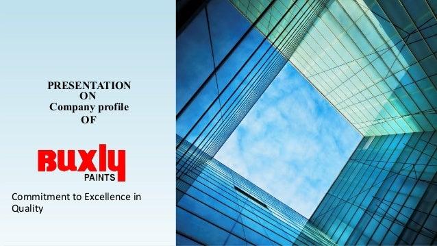 Buxly Paint Ltd