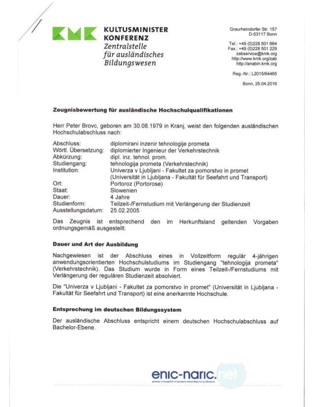 Peter_Brovc_DIPLOM_KMK_Diplomieter_Ingenieur_der_Vrkehrtechnik Slide 2