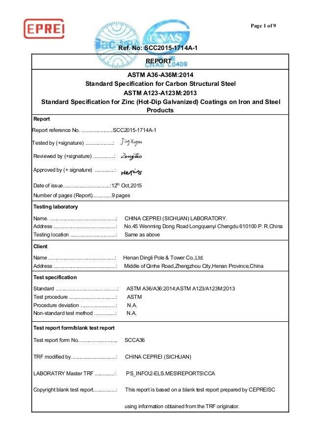 Astm A123 Free Epub