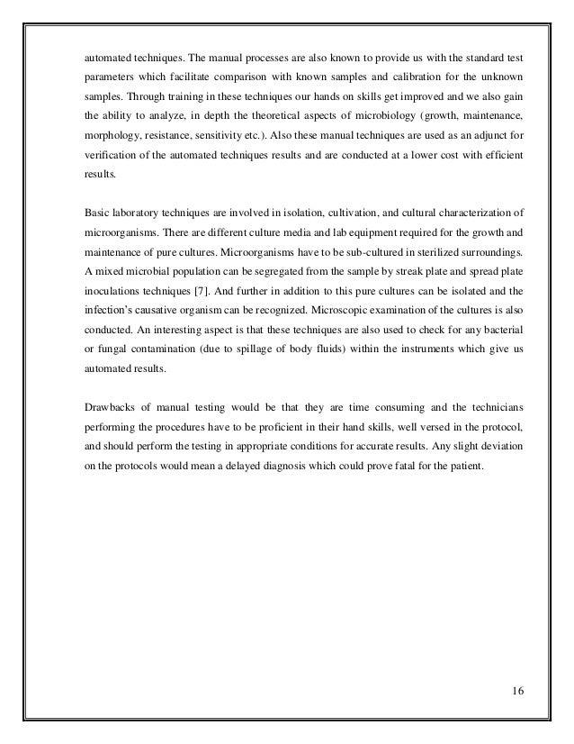 Buy sample microbiology lab report